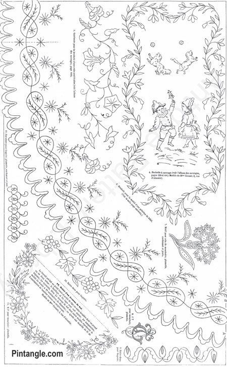 Collection Of Free Hand Embroidery Patterns Embroidery Designs