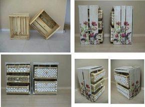 Mobili Fai Da Te Con Cassette Della Frutta : Cassette della frutta idee riciclo istruzioni per dipingerle