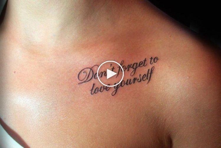 20+ Tatouage au dessus de la poitrine inspirations