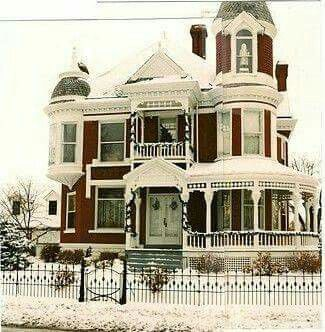 Not Just Perfect Currier Ives Perfect Victorian Homes Victorian Style Homes Old Victorian Homes