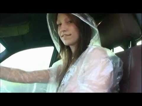 Barbie Girl in Blue PVC Rainwear (PG) Rated - YouTube