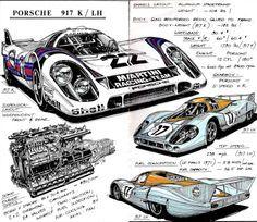 Werner Buhrer 917k & LH 1971