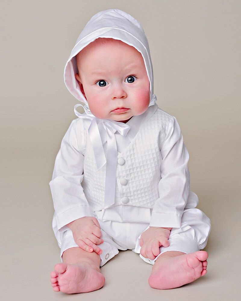 Austin Boy Christening Outfit Baptism Outfit LDS