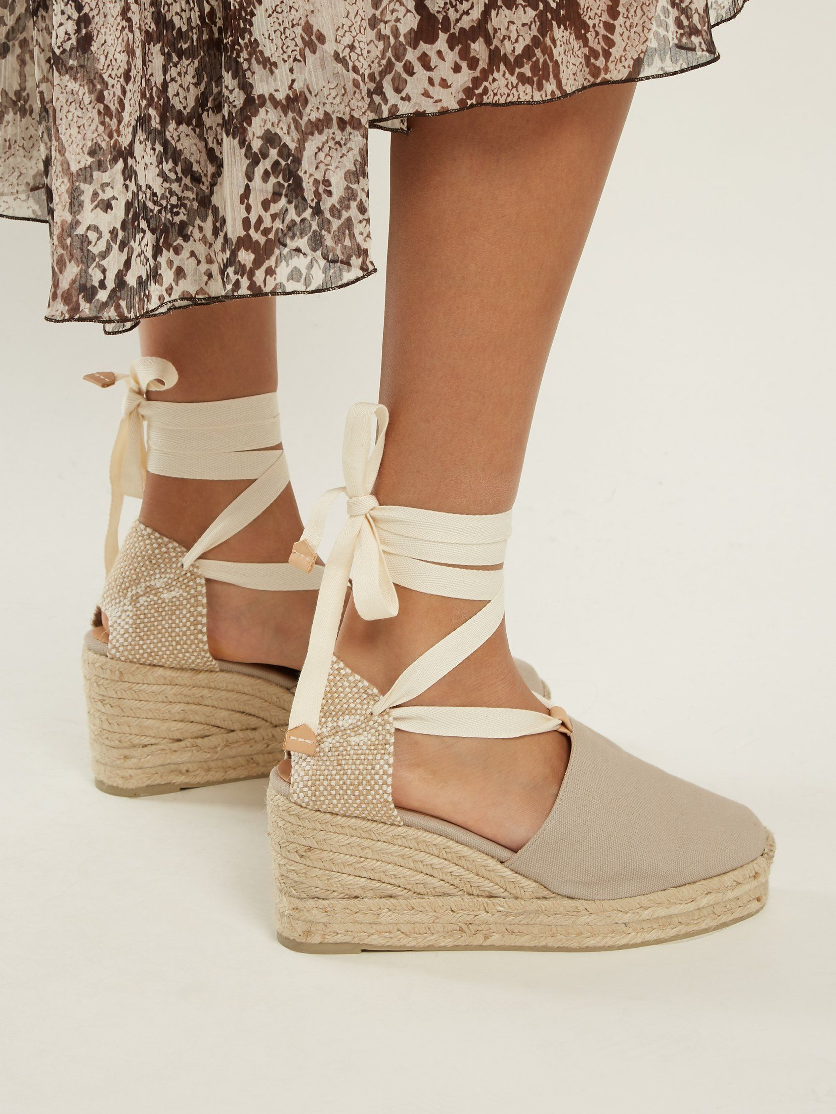 67fcc00ad9c Click here to buy Castañer Campesina canvas wedge espadrilles at ...