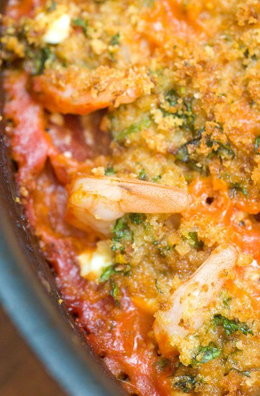 Sugar & Spice by Celeste: Roasted Shrimp with Feta