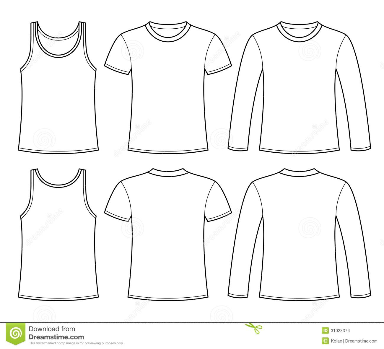 Shirt Templates For Kids To Design Their Own Clothes
