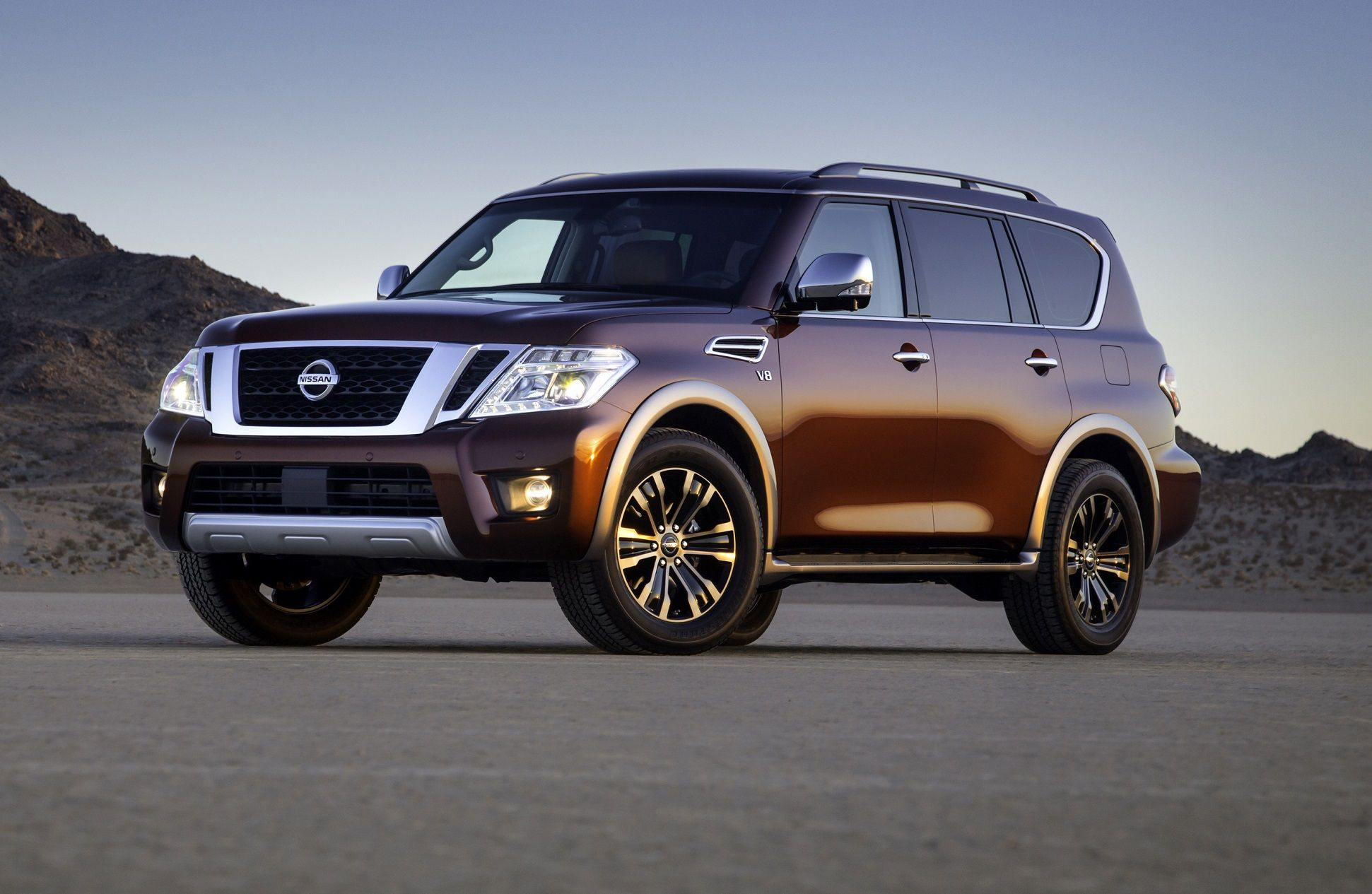 2017 Nissan Armada SUVs and Trucks Pinterest