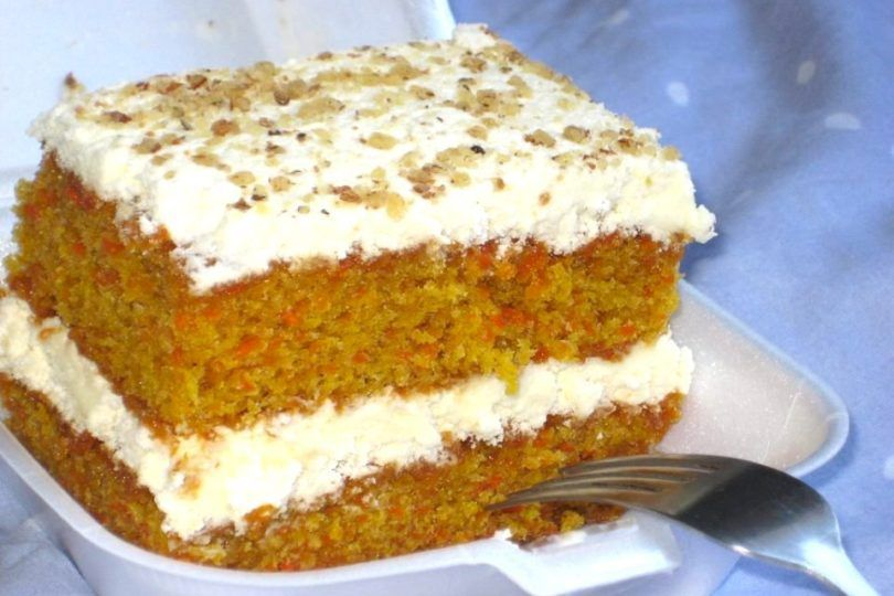 Eggless Carrot Cake Recipe In 2020 Eggless Carrot Cake Cake Eggless Sponge Cake