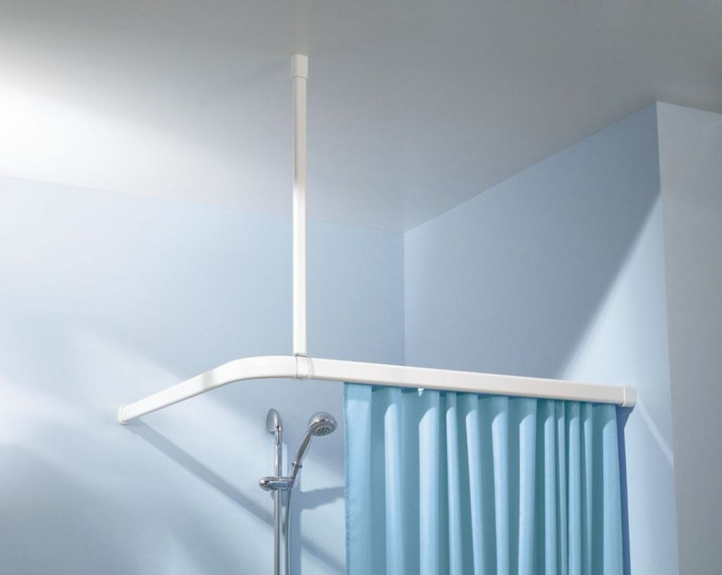 The Suspended Shower Curtain Rod