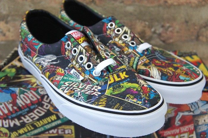 vans comics marvel | Kicks in 2019 | Cool vans shoes, Vans, Shoes