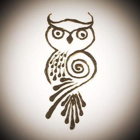 Image Result For Henna Owl Designs Animal Henna Designs Cute Henna Henna Designs Hand