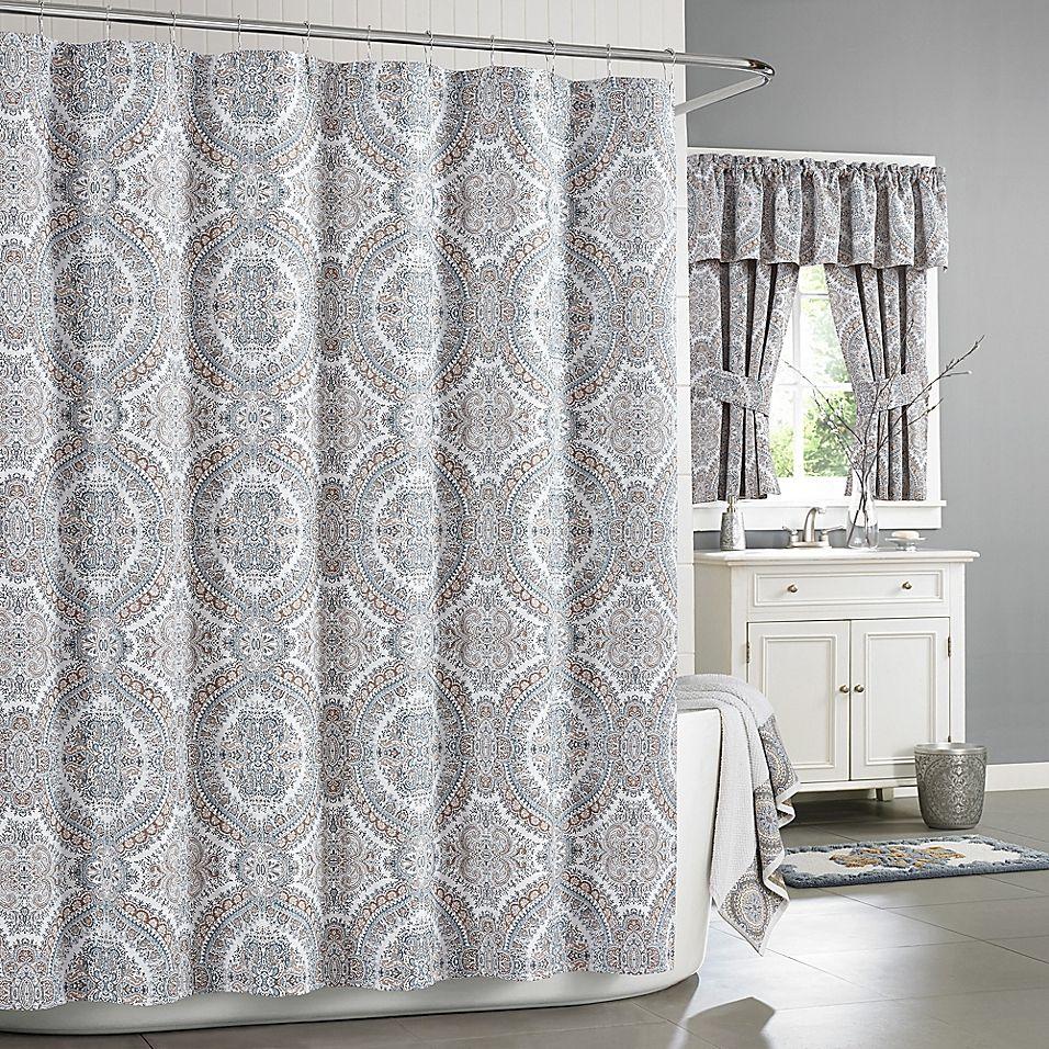 J Queen New York Colette Shower Curtain Curtains Queens New York