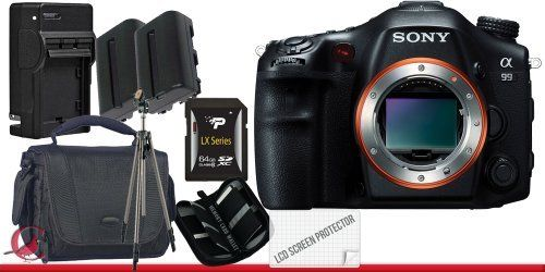 Deluxe Starter Kit Full Size Tripod Canon SX40 HS 12.1MP Digital Camera with 35x Wide Angle Optical Image Stabilized Zoom TWO NB-10L Lithium Ion Replacement Battery Memory Card Wallet SDHC Card USB Reader External Rapid Charger Mini HDMI Cable