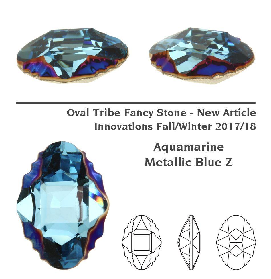 NEW-Genuine-SWAROVSKI-4926-Oval-Tribe-Fancy-Stones-Crystals-Many-Colors
