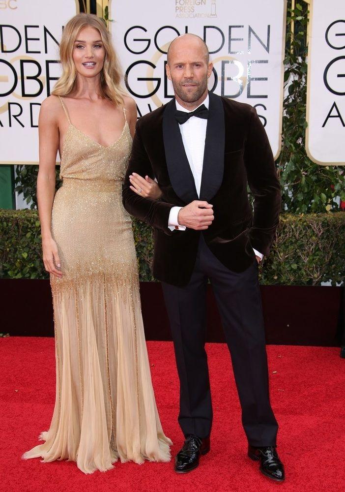 Rosie Huntington-Whiteley and Jason Statham
