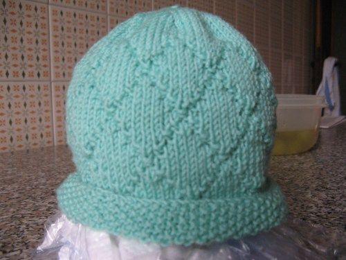 cappellino ferri circolari | maglia baby | Pinterest