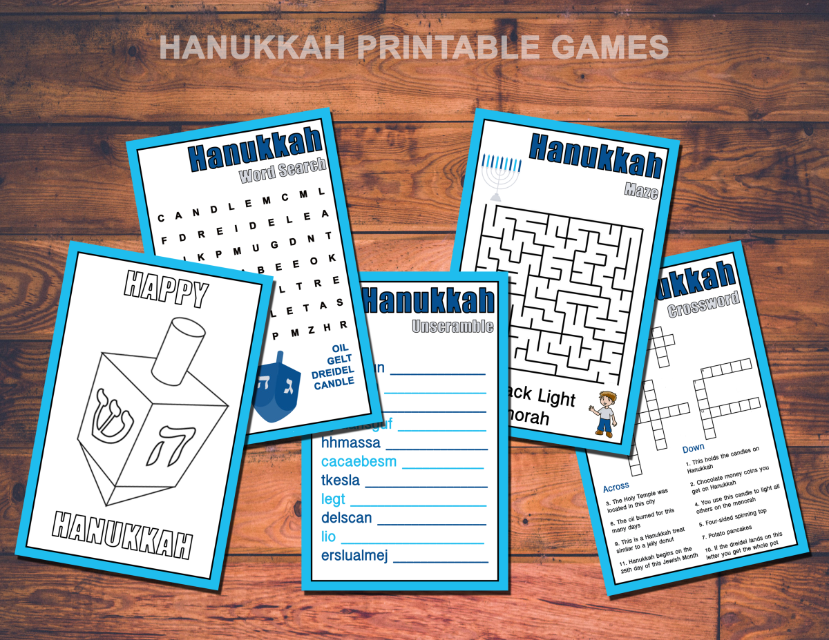 Hanukkah Activities For Kids