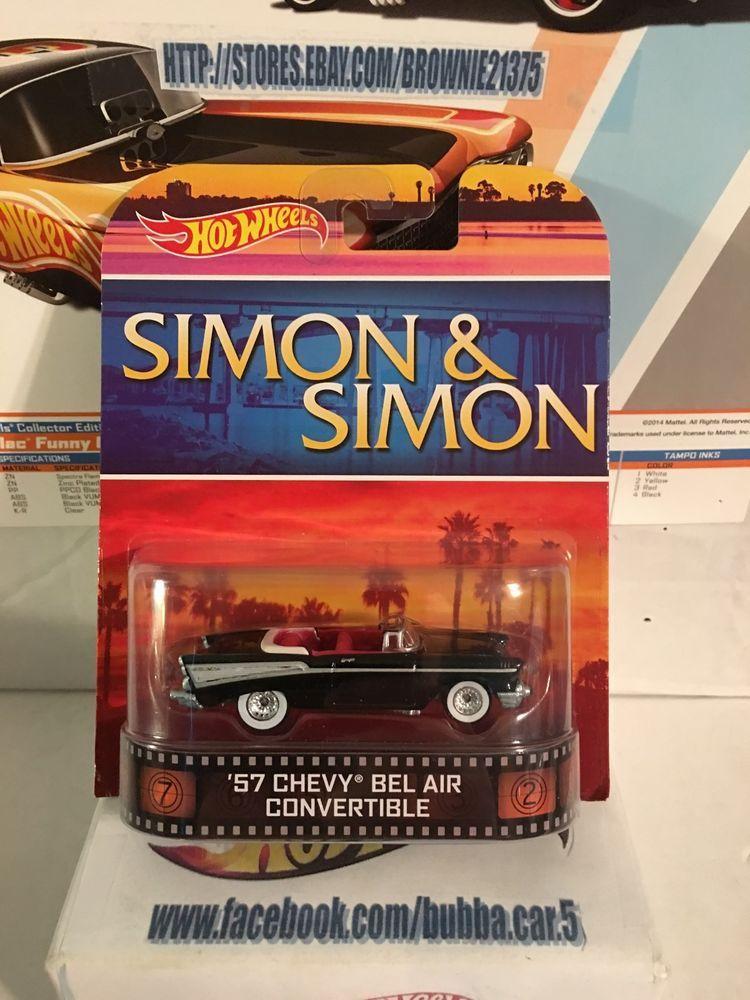 Hot Wheels Retro Entertainment Simon & Simon '57 Chevy Bel