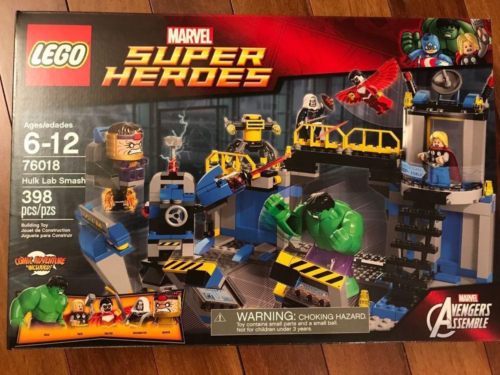 Lab Set76018 Hulk Lego Sealed Smash Brand New Heroes Super Marvel uPkiOZX