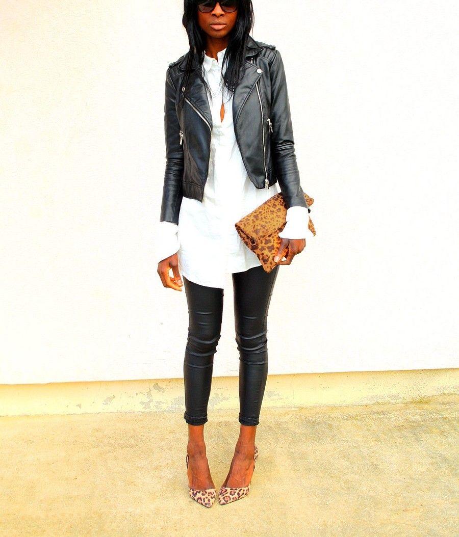 bc07edeee3ce7 perfecto-zara-mango-chemise-blanche-longue-escarpins-leopard-sac ...