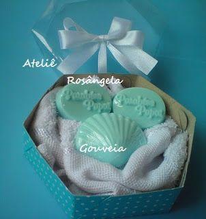 Lembrancinhas - Lembrancinhas da Rosângela : Lembrancinhas caixinhas  sextavada, de papel