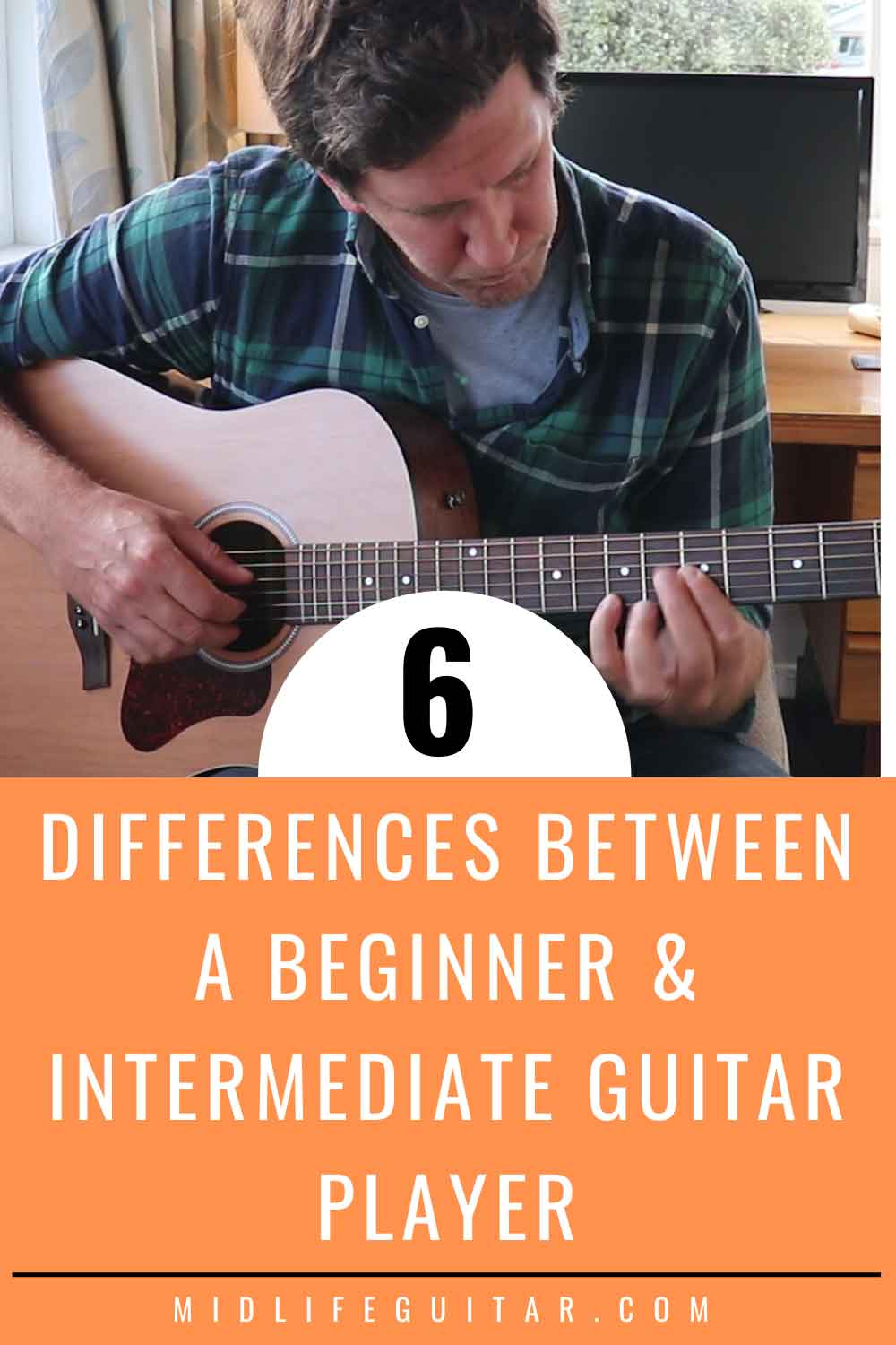 Differences Between A Beginner Intermediate Guitar Player Guitar Player Learn Guitar Easy Guitar Lessons