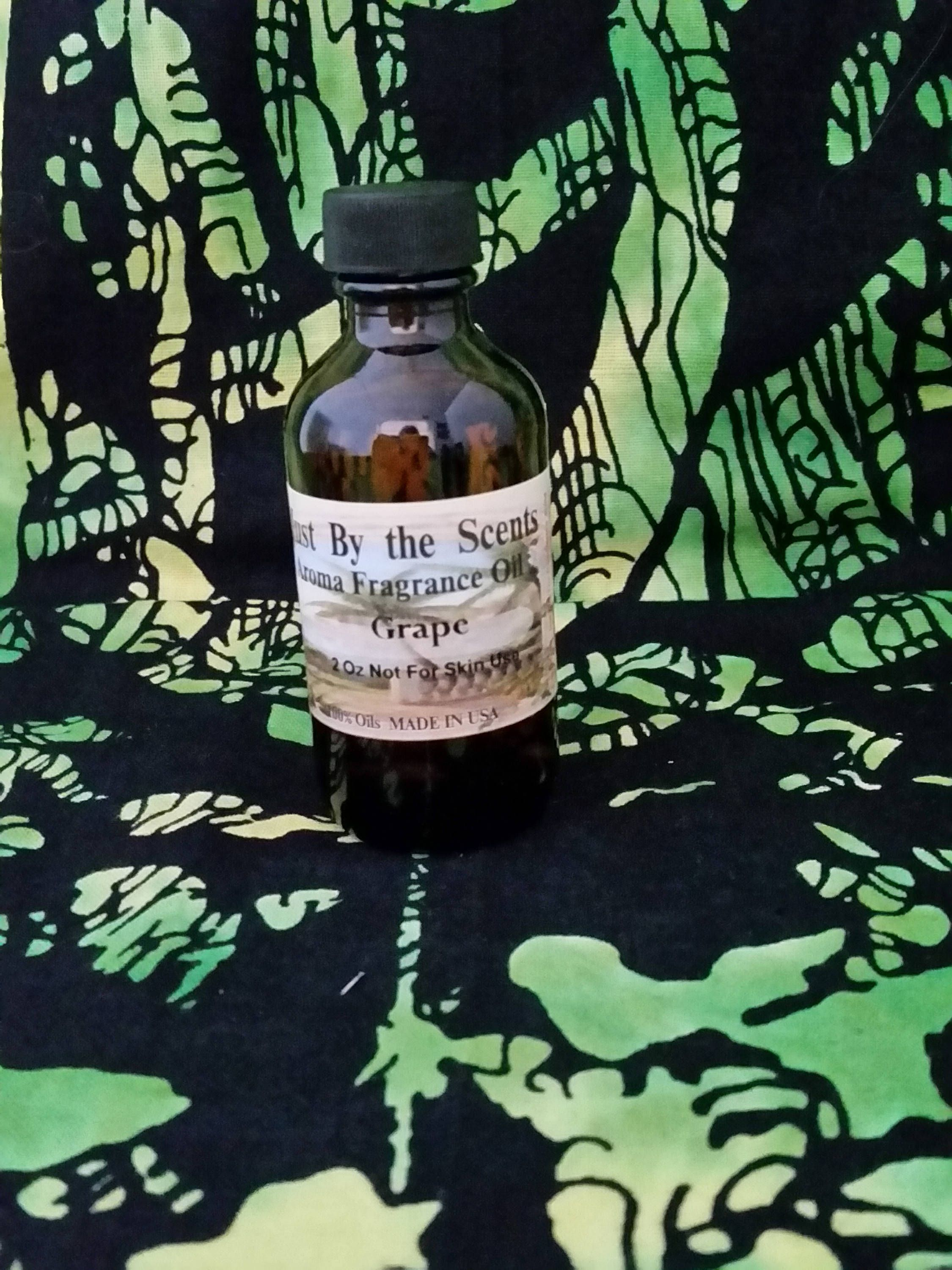 Grape Aroma Fragrance Oil Just By The Scents 2 Ounce Bottle 100 Oil Made In Usa With Images Fragrance Oil Fragrance Scents
