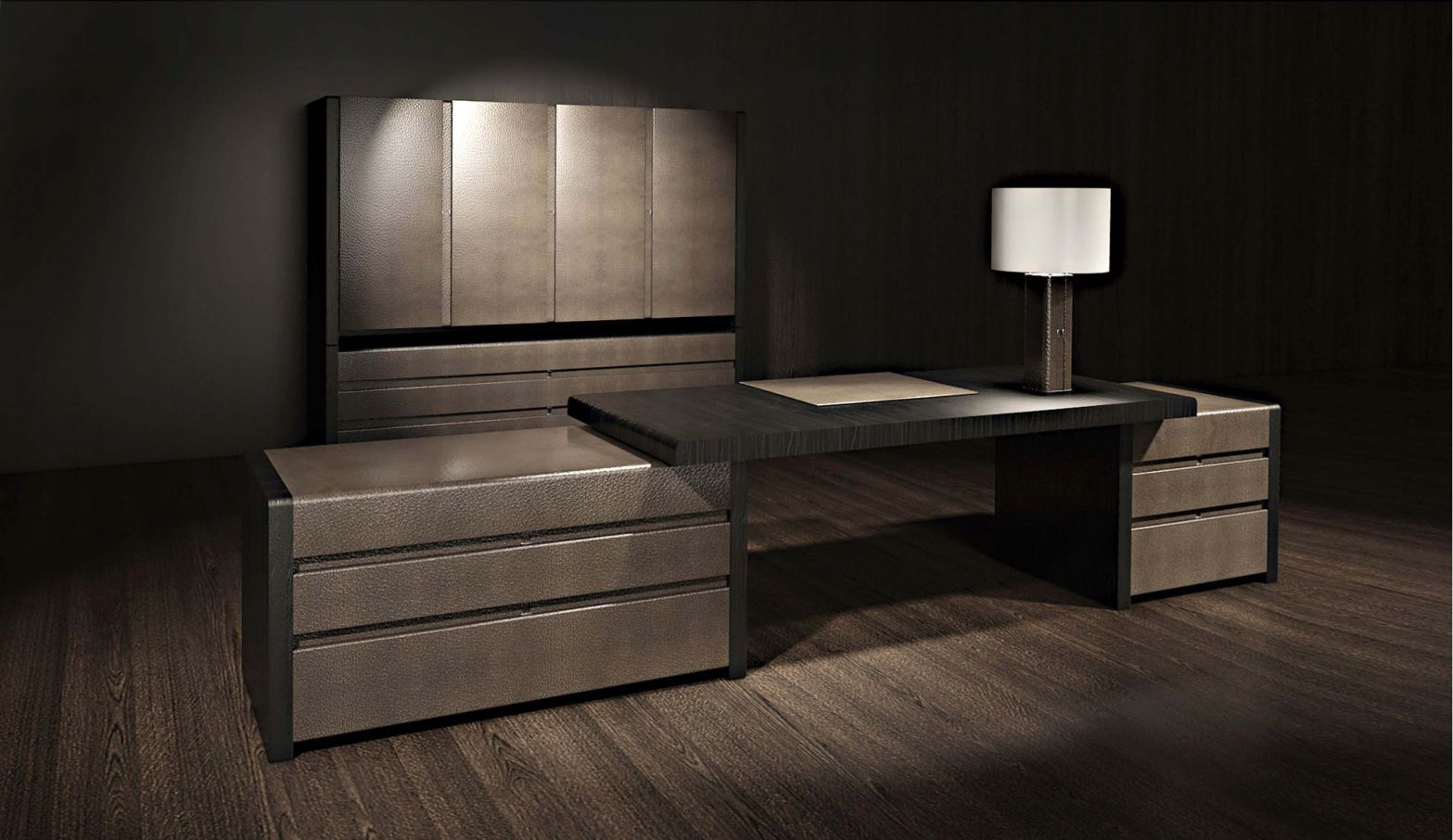 large home office desk. 2019 Leather Office Desk - Large Home Furniture Check More At Http:// T