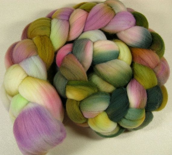 Whispers Merino Wool Top for spinning and felting 4 by yarnwench, $17.00