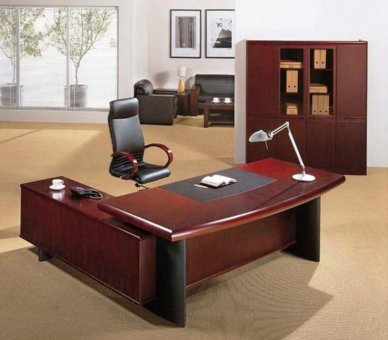 Office workspace elegant office chairs with office furniture and executive office desk feat - Home office desk furniture sets ...