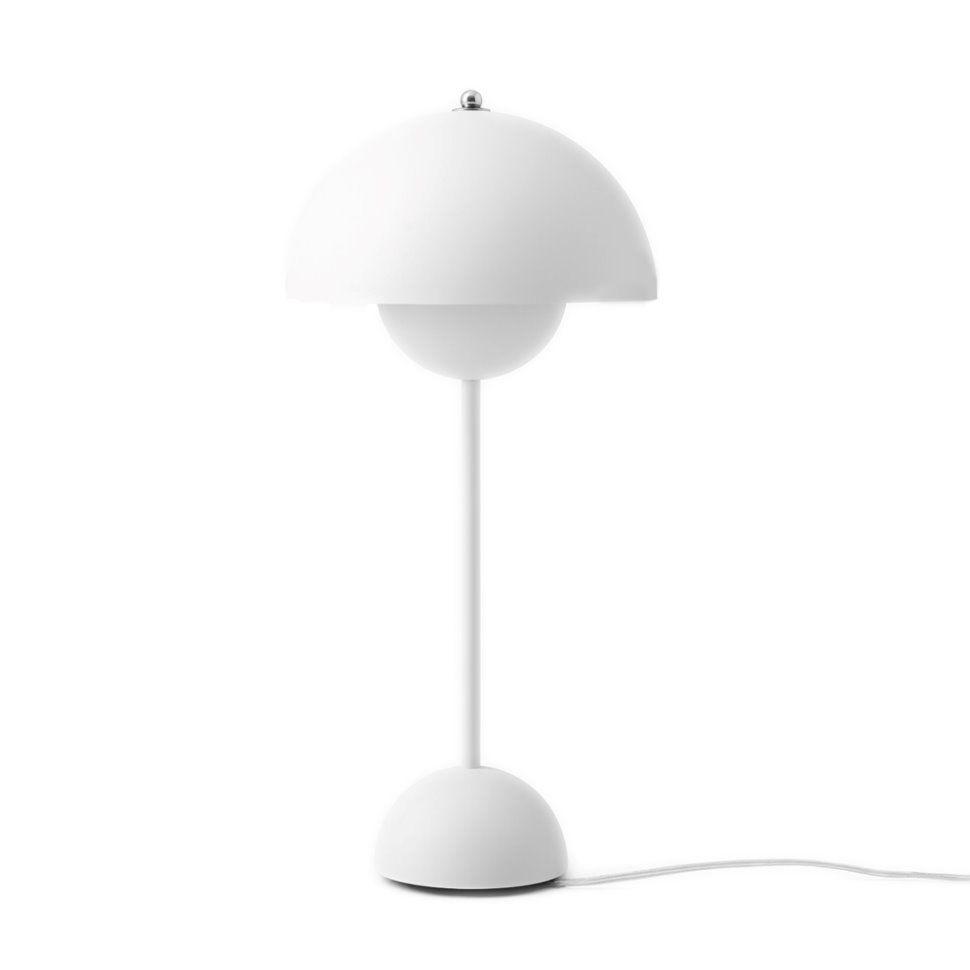 Flowerpot Vp3 Tischleuchte Von Tradition Online Kaufen Table Lamp Simple Lamp White Table Lamp
