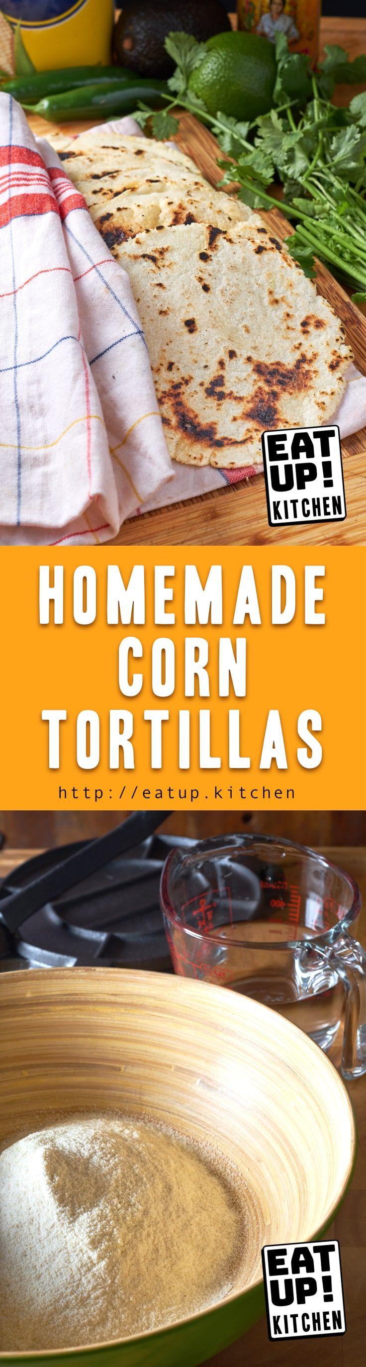 Homemade corn tortillas recipe tortilla corn