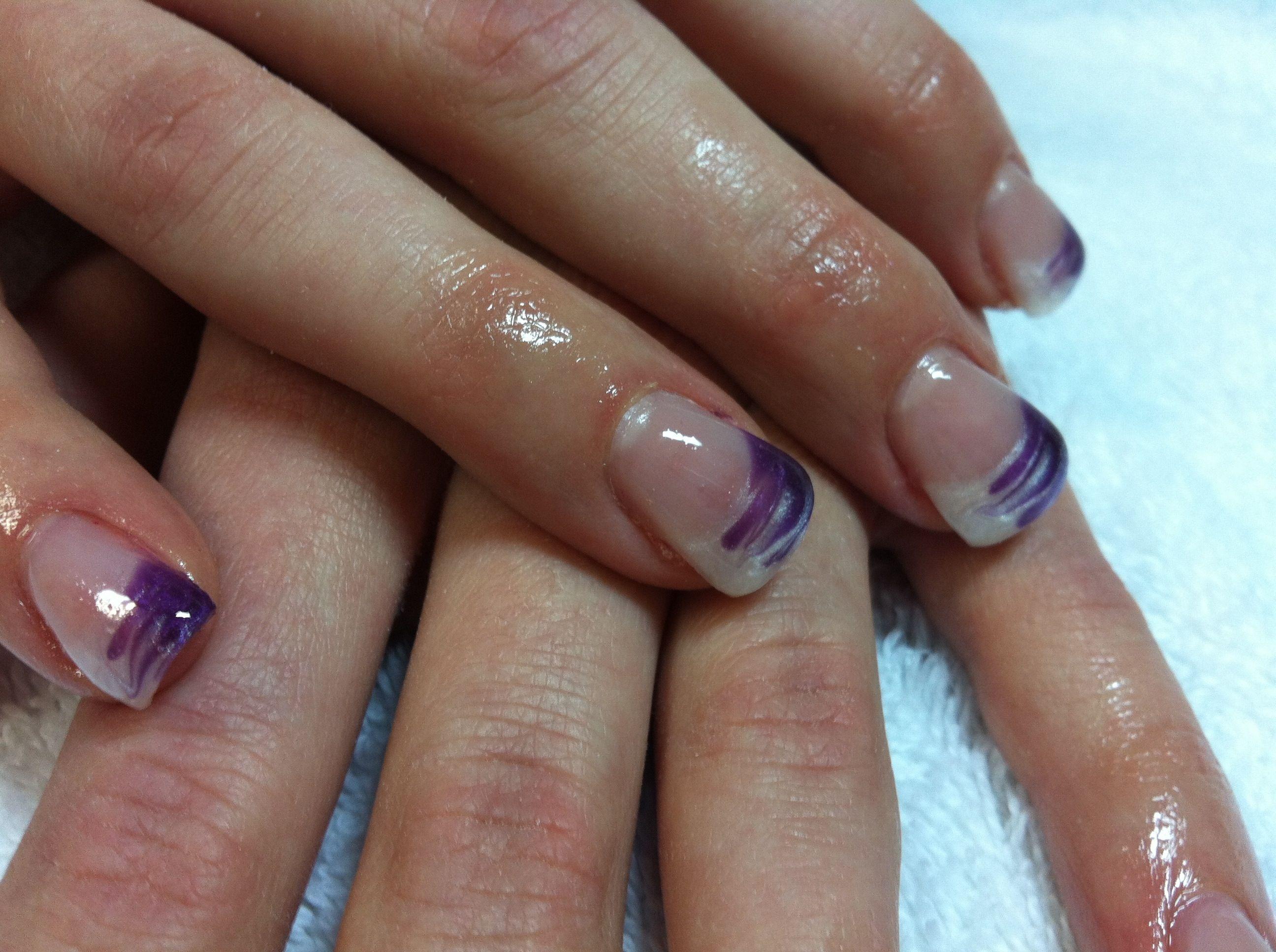 Gel Nails Designs   color gel gel nails karen rousseaux nail art ...