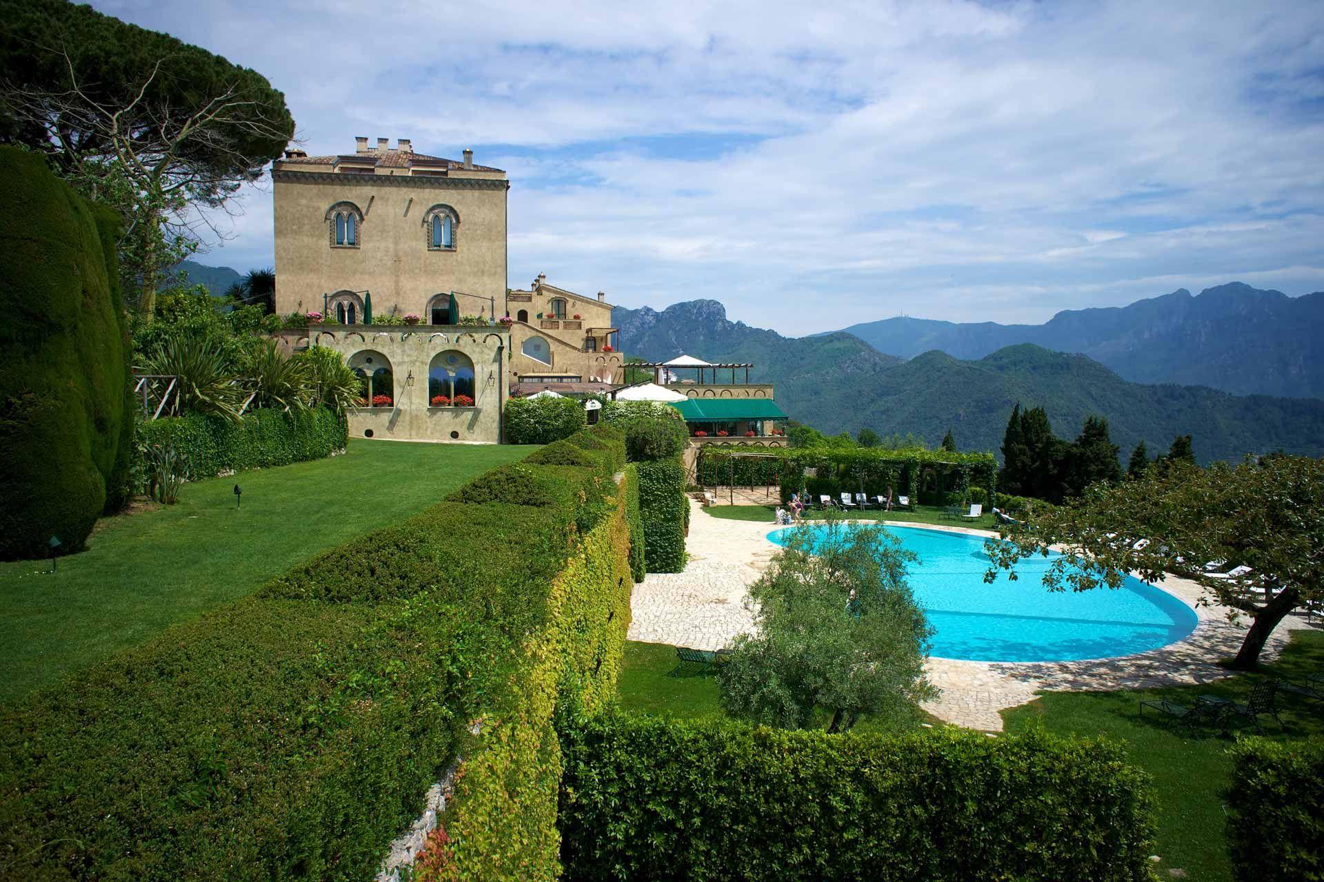 Villa Cimbrone Italia, Luoghi, Camere