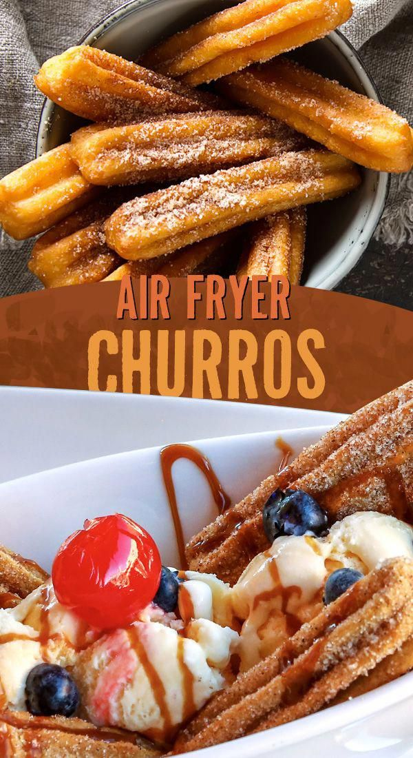 Air Fryer Churros in 2020 Traditional mexican desserts