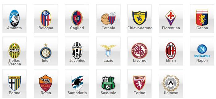 Serie a league teams