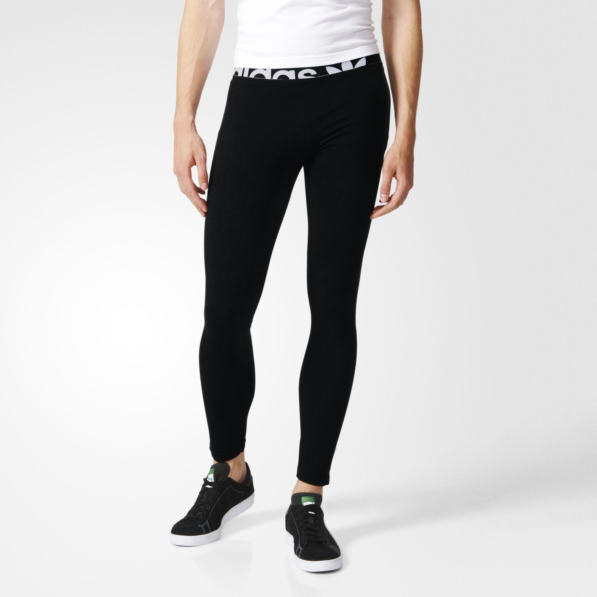 ADIDAS DAMEN ESSENTIAL Leggings 3 Streifen Design