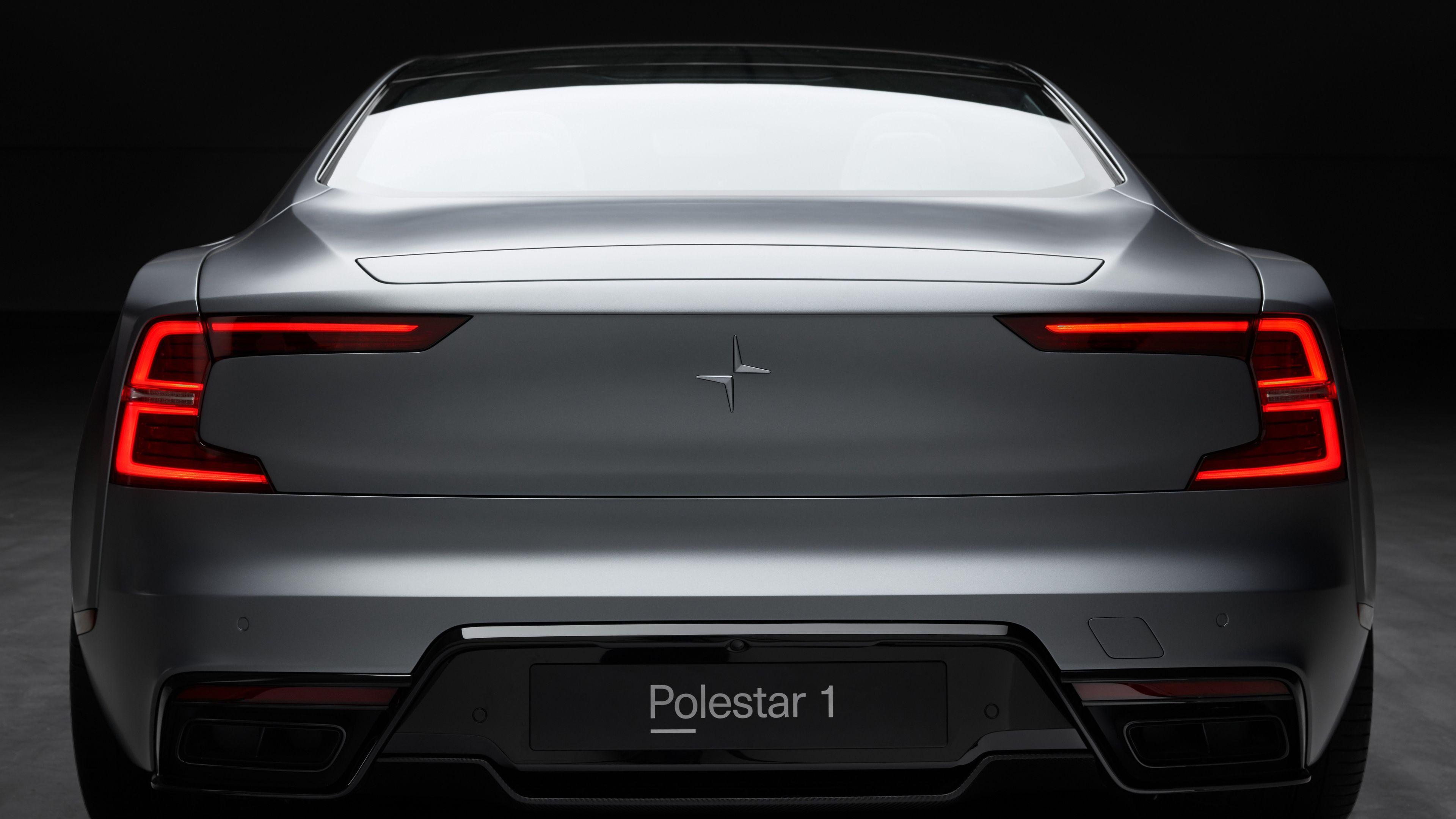 Wallpaper 4k Polestar 1 Rear 4k 2019 cars wallpapers, 4k