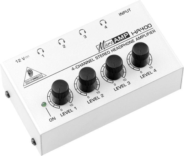 Behringer MICROAMP HA400 Headphone Amp $22