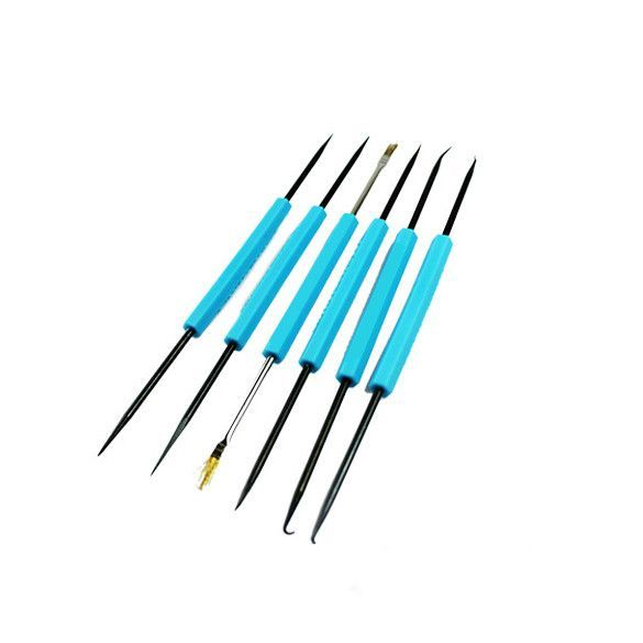 6PCS Hand Tool Sets Professional Steel Solder Assist Precision Electronic Compon