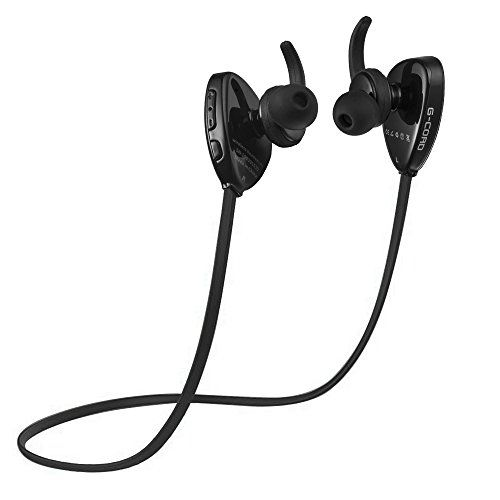 Gcord Tm Secure Fit Bluetooth 40 Wireless Headphones Noise Cancelling And Stereo Sound Read More Re Headphones Phone Accessories Iphone Wireless Headphones