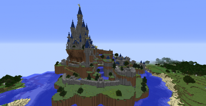 The Legend Of Zelda Breath Of The Wild Hyrule Castle Pre Calamity Minecraft Project Breath Of The Wild Legend Of Zelda Castle