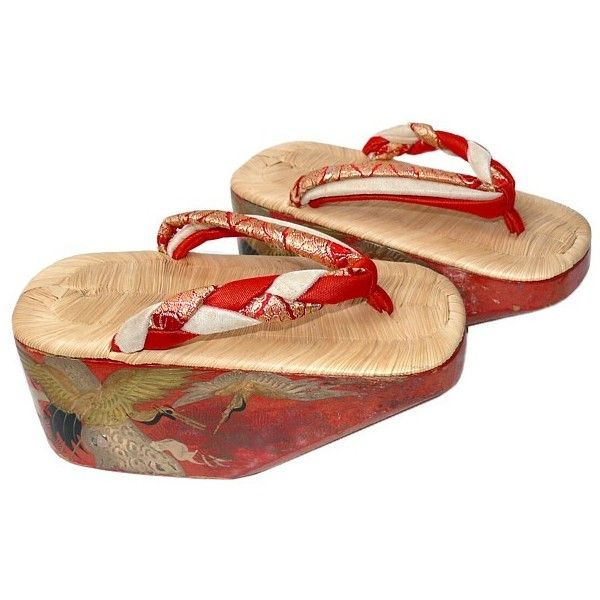 701a08bb218c1 Japanese Maiko traditional lacquered shoes