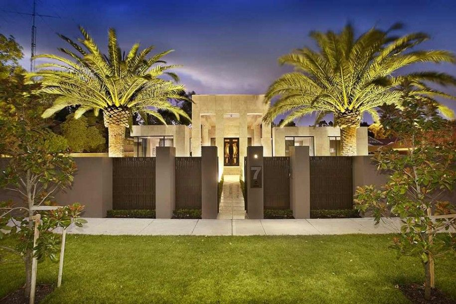 Luxury Homes With Privacy Fences Google Search Entry - Australia luxury homes exterior pictures