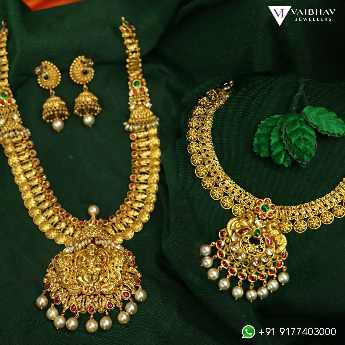 Antique Jewellery Collection From Vaibhav Jewellers In 2020 Antique Necklaces Design Silver Jewellery Online Online Gold Jewellery,Modern Style Granite Kitchen Platform Design Images