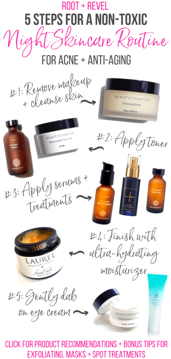 My Night Skincare Routine For Glowing Skin Night Skin Care Routine Skin Care Skin Care Routine