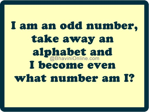 Word riddle games i am an odd number riddle games number and word riddle games i am an odd number planetlyrics Image collections