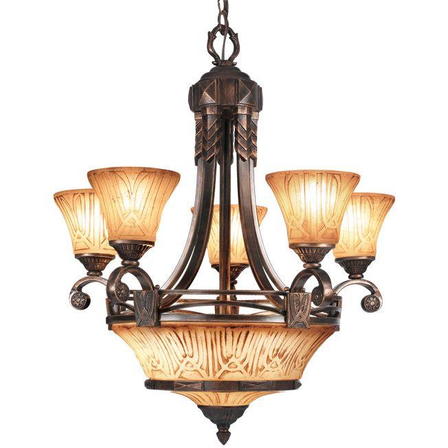 Woodbridge Lighting Sebastian 8-light Tuscan Bronze ...