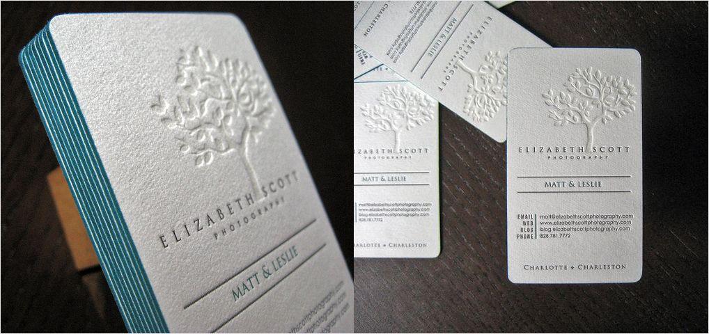 Letterpress finish business card design inspiration design letterpress finish business card design inspiration reheart Images