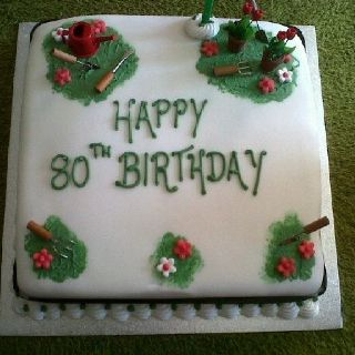 80th Birthday cake for Grandpa 80th Birthday Party Pinterest